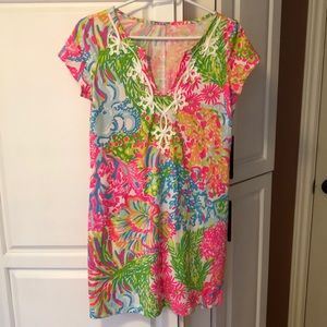 Lilly Pulitzer Dresses - NWOT Brewster Dress LILLY PULITZER Coral sz S
